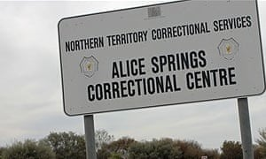 Following arrest, Mr Doolan was remanded in a high-security section of Alice Springs Correctional Centre, where he remained, unconvicted, for 4 years and 9 months. (image: Emma Sleath/ABC Local)